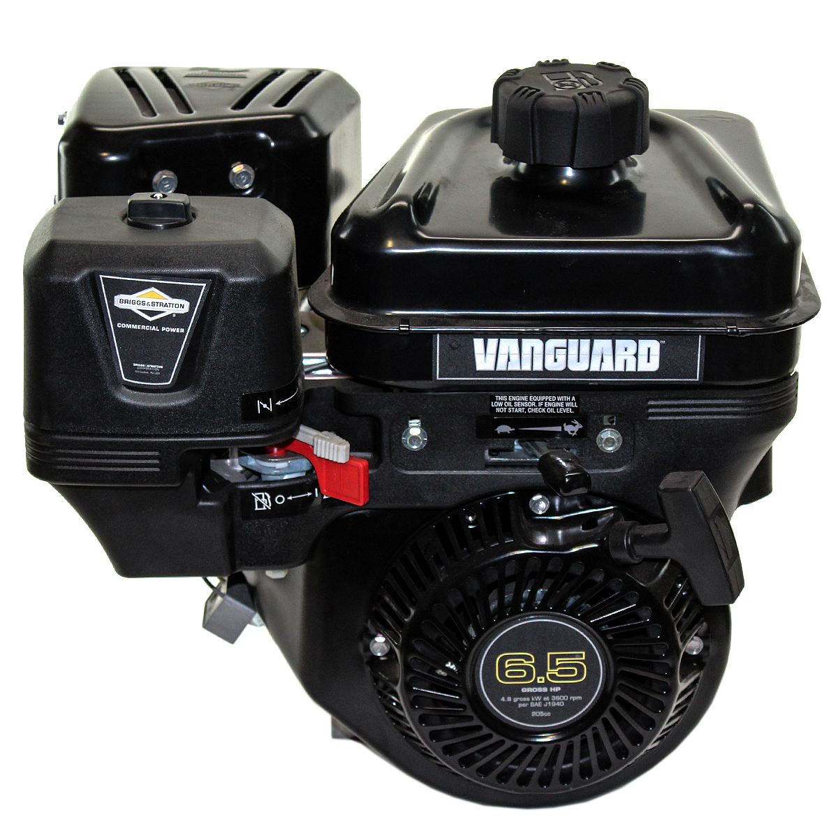 6.5HP Vanguard Horizontal 3/4