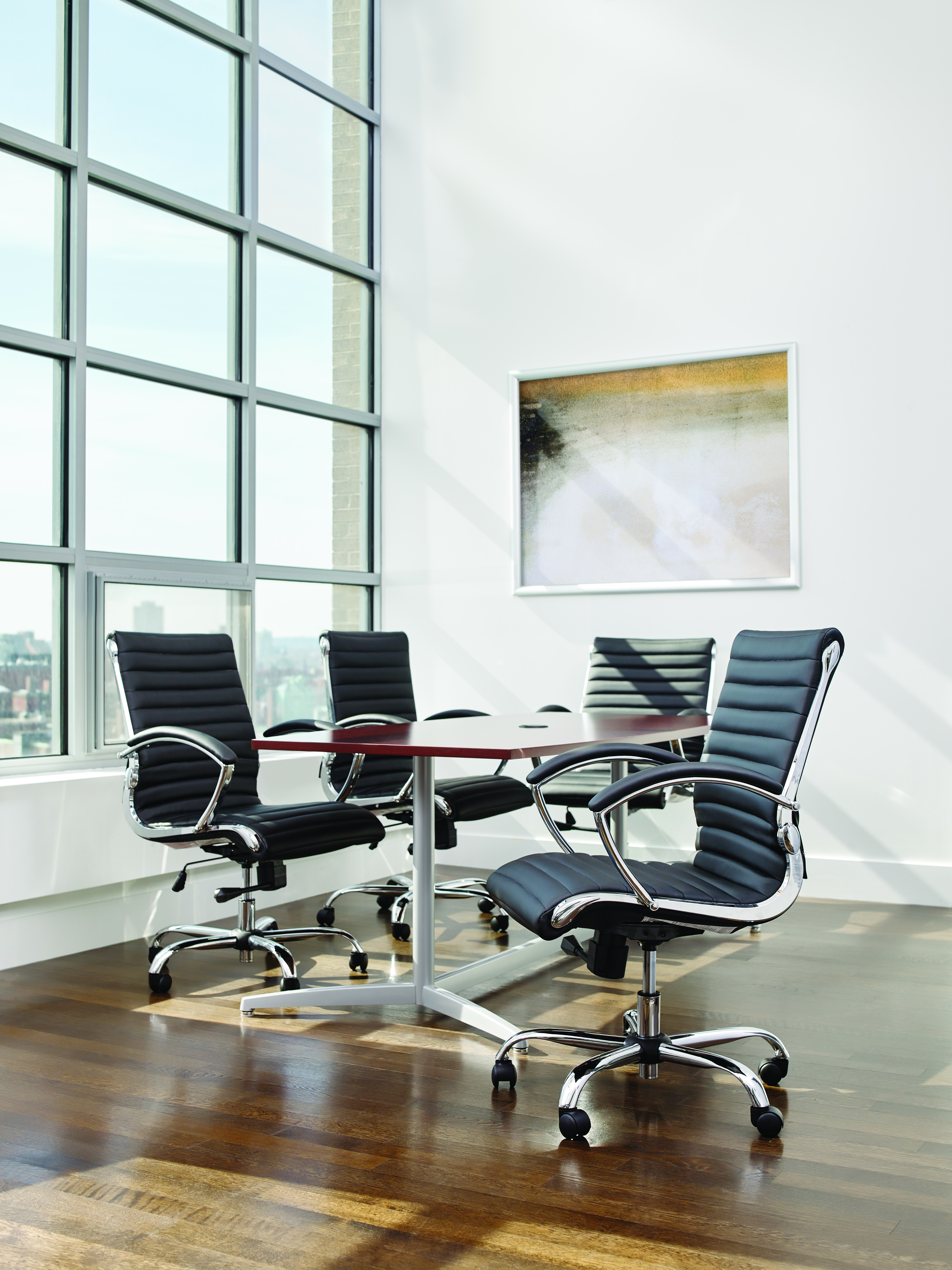 Staples Bresser Luxura Managers Chair Black Ebay
