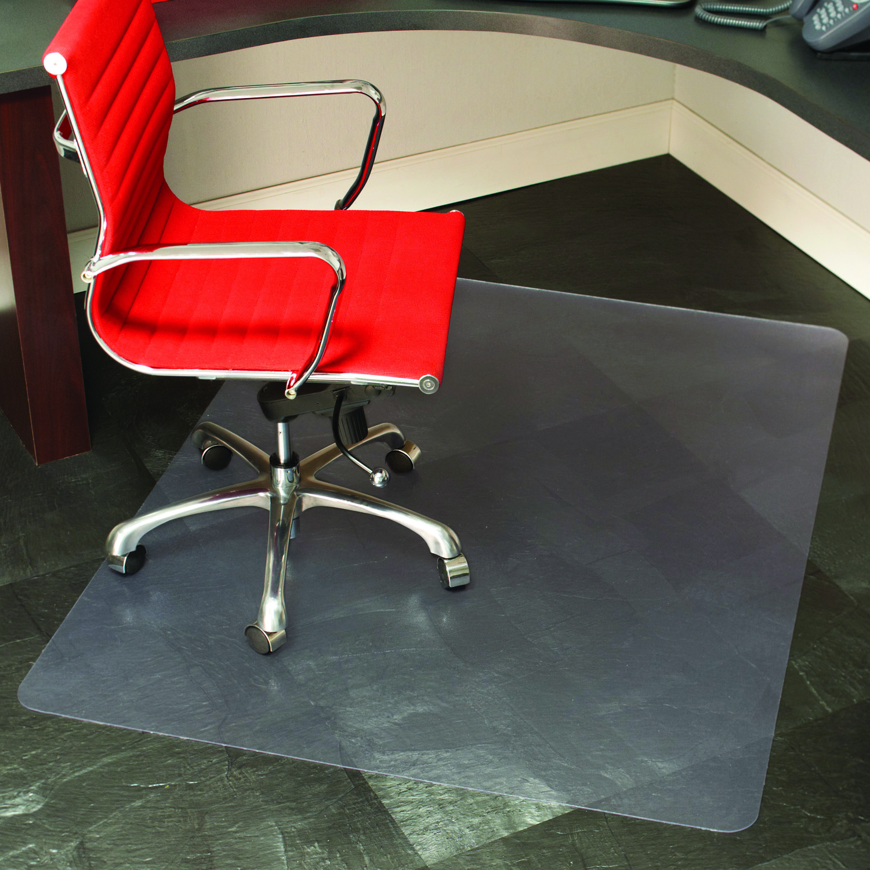 Staples Hard Floor Chair Mat 46x60 7879 PicClick