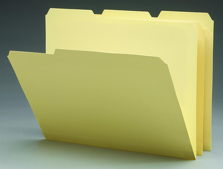 Staples poly manila file folders letter 3 tab 12 pack for Manila file folders letter 3 tab