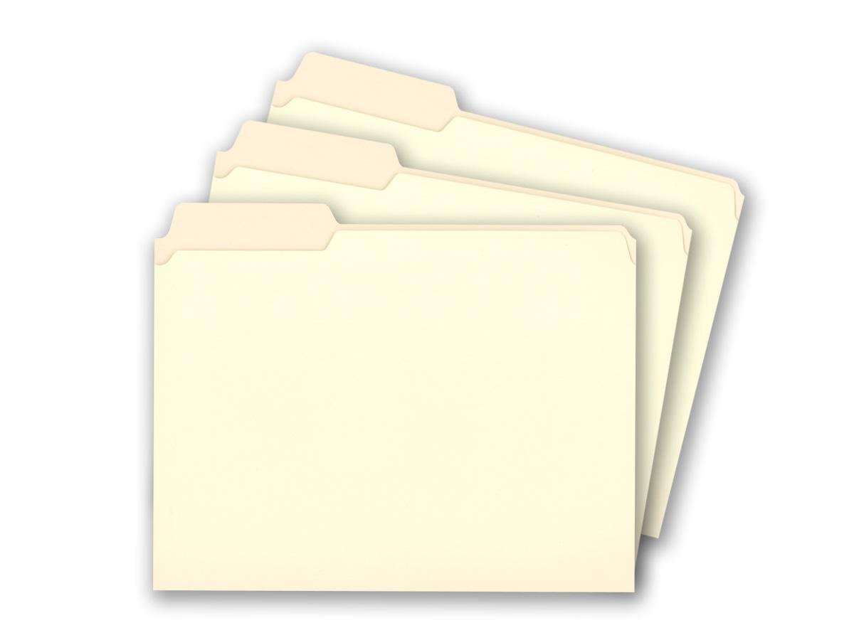 Staples manila file folders letter 3 tab left position for Manila file folders letter 3 tab