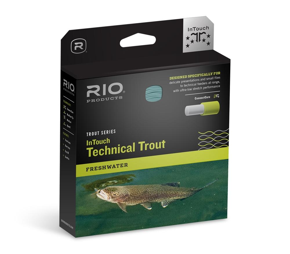 Rio  InTouch Technical Trout Fly Line - WF3F  precioso