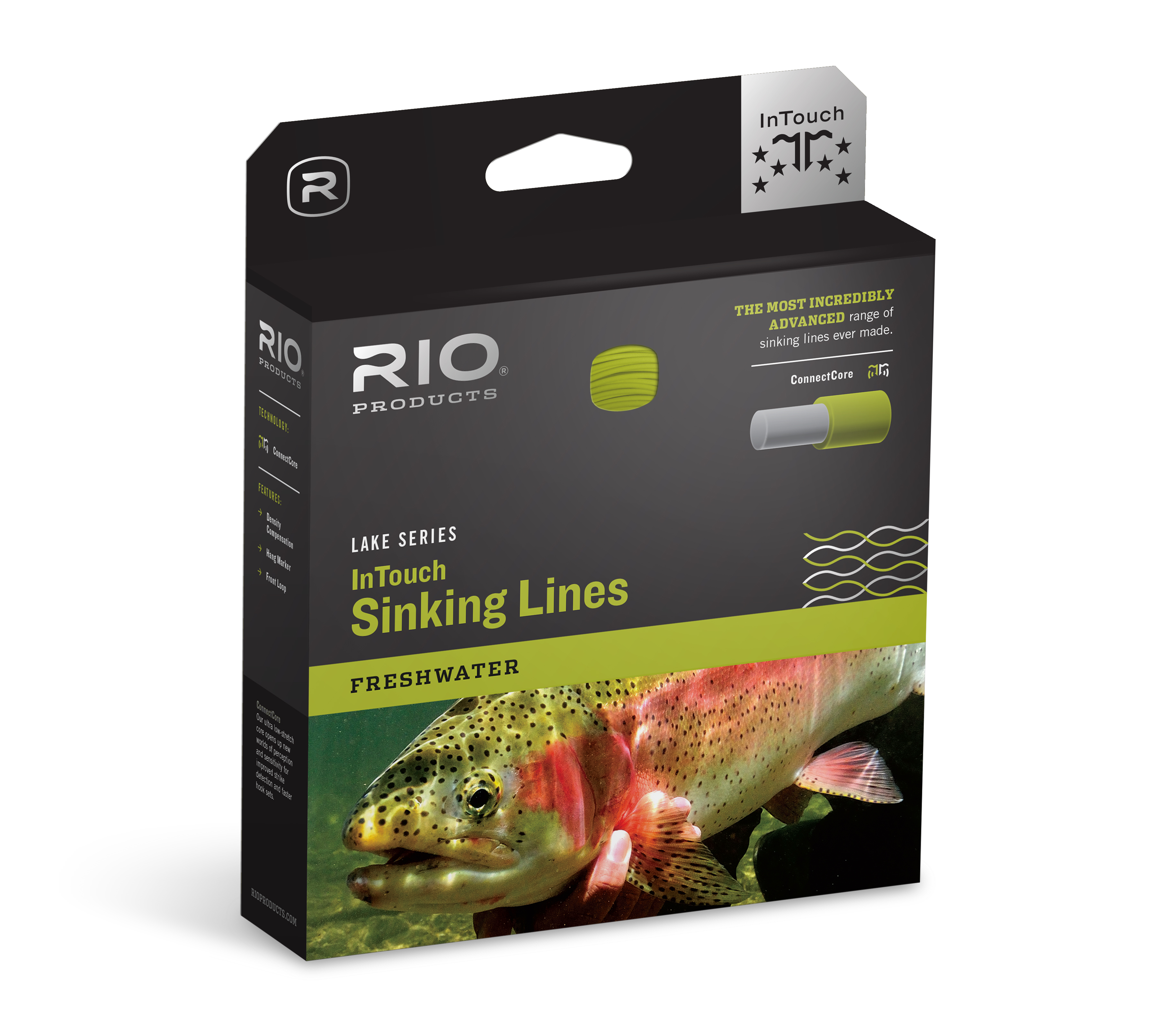 Rio InTouch Deep 3 Sinking Fly Line, Marronee with Hang Marker, WF7S3  CLOSEOUT