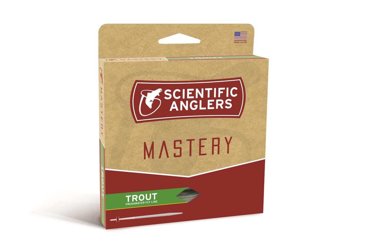 Scientific Anglers  Maestría Serie Trucha Óptica verde-WF6F  mejor opcion