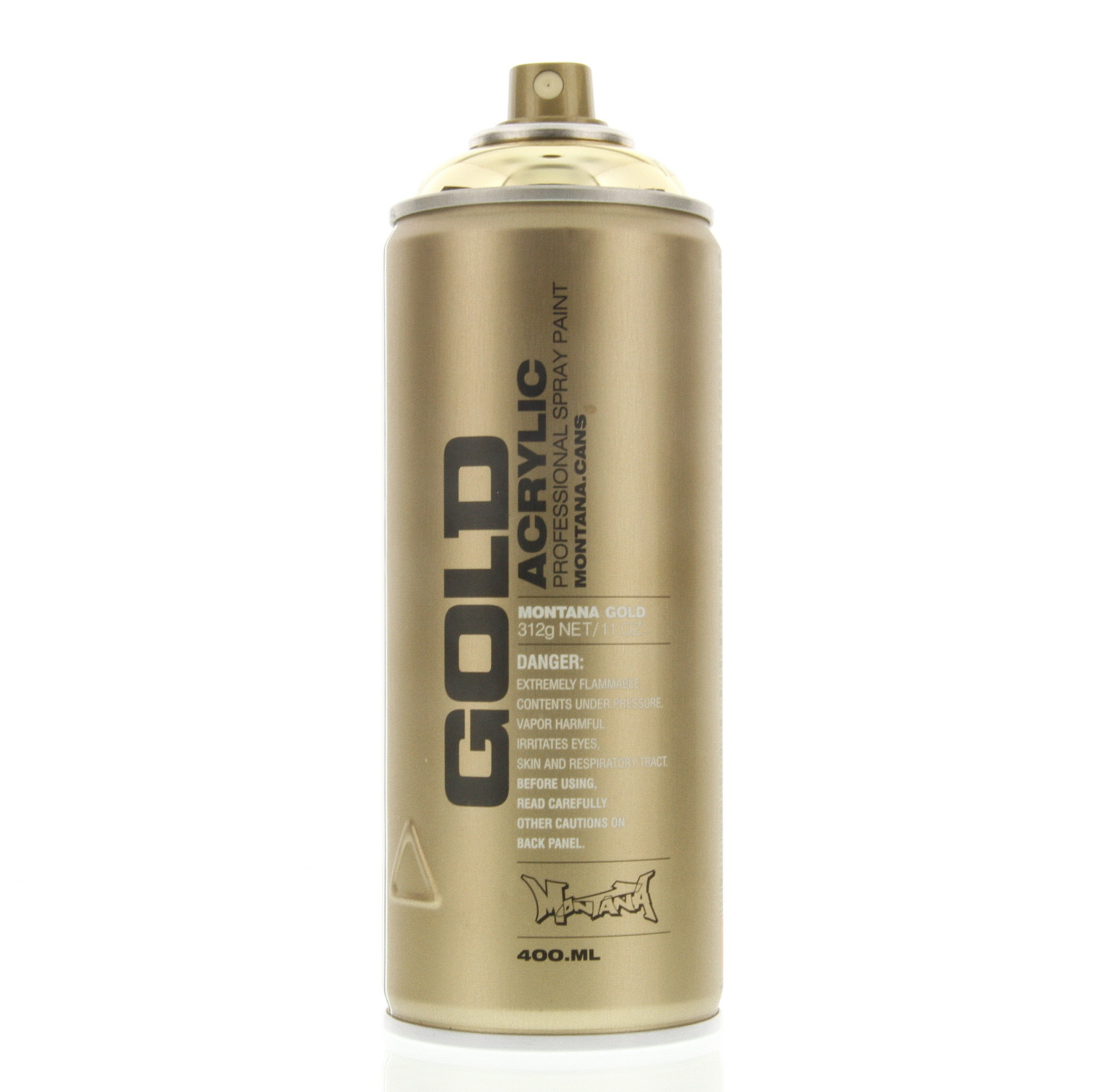 Montana gold acrylic spray paint goldchrome m3000 urban art 1 can ebay Paint with spray can