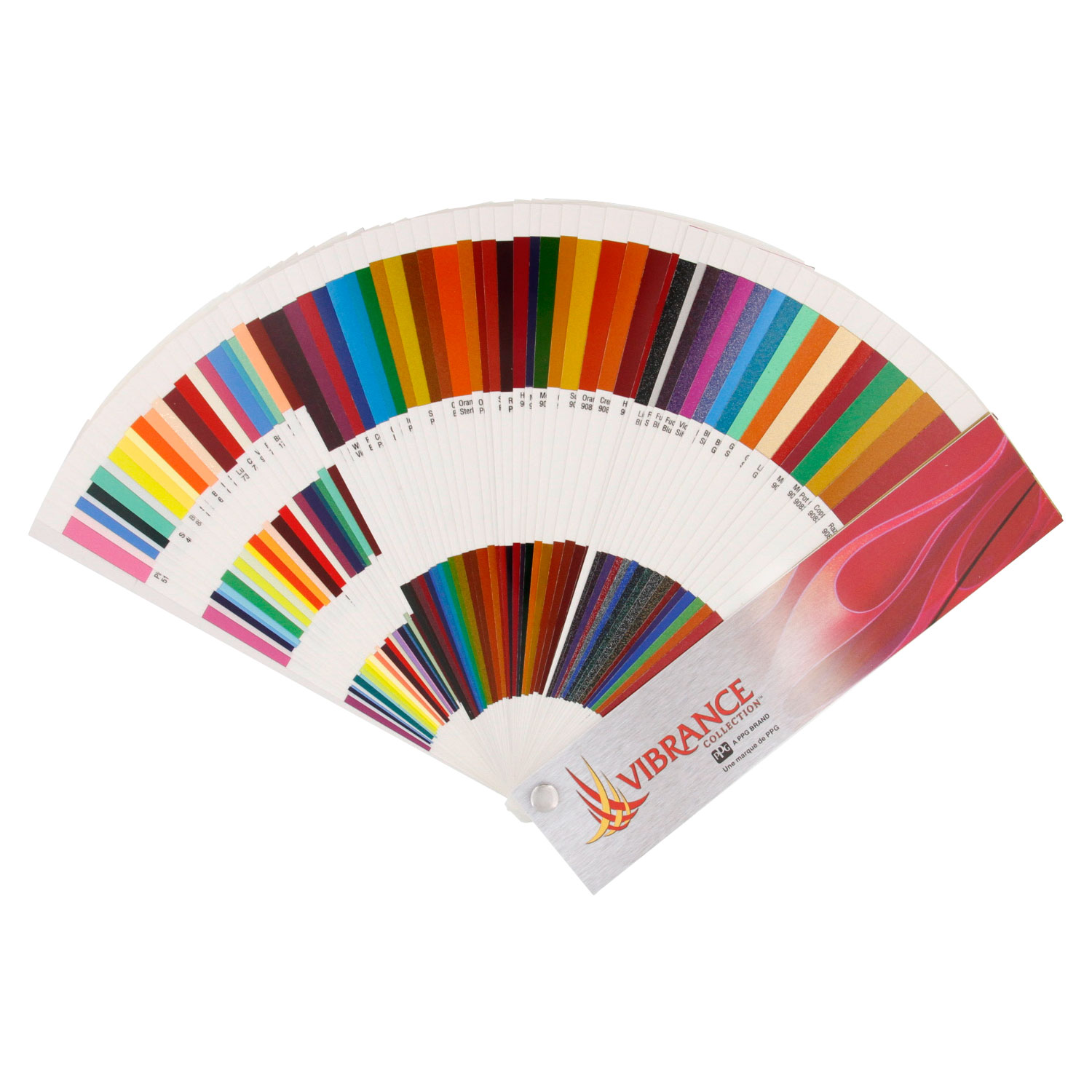Ppg vibrance color cards are the most comprehensive available