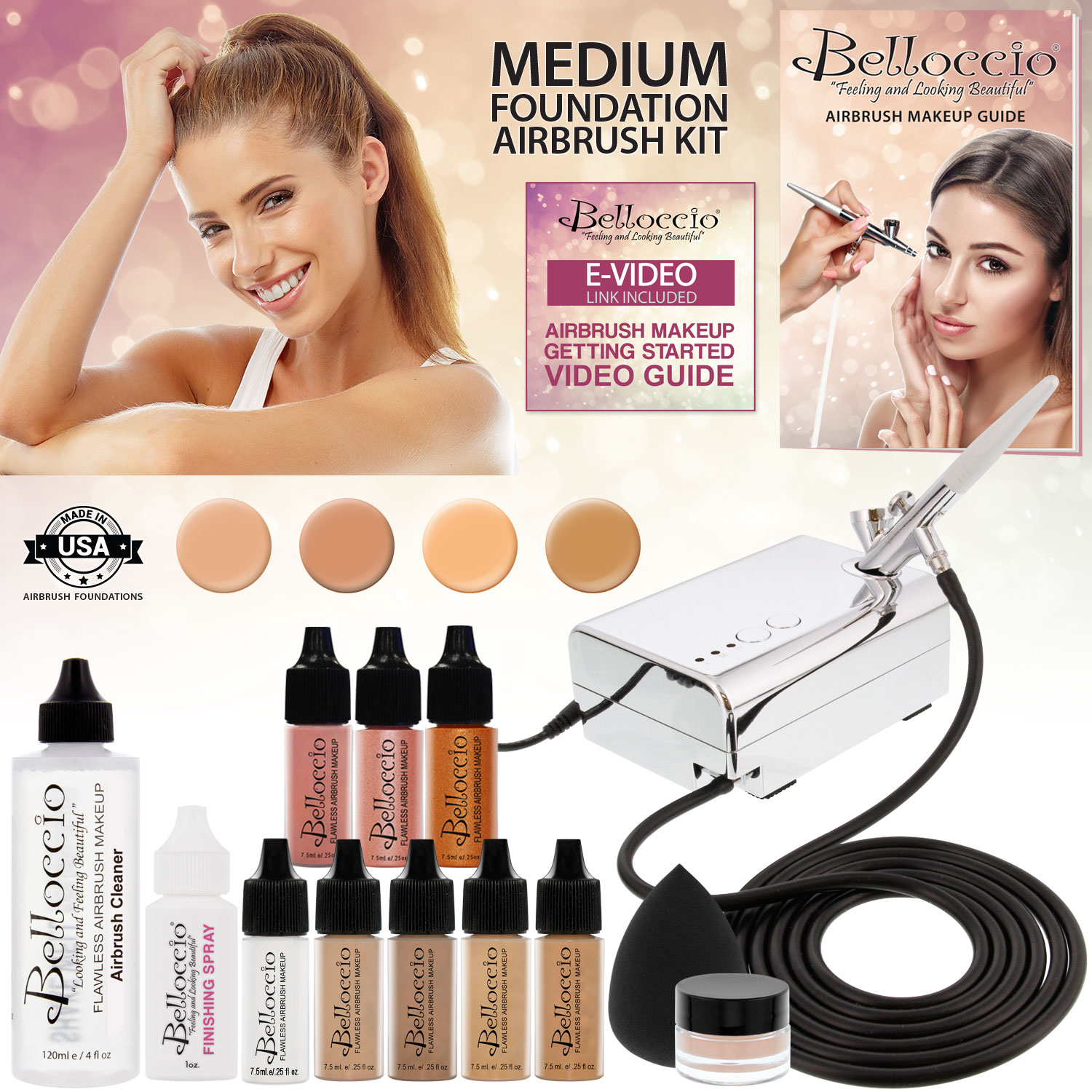 Buy Makeup Airbrush kit before and after pictures trends
