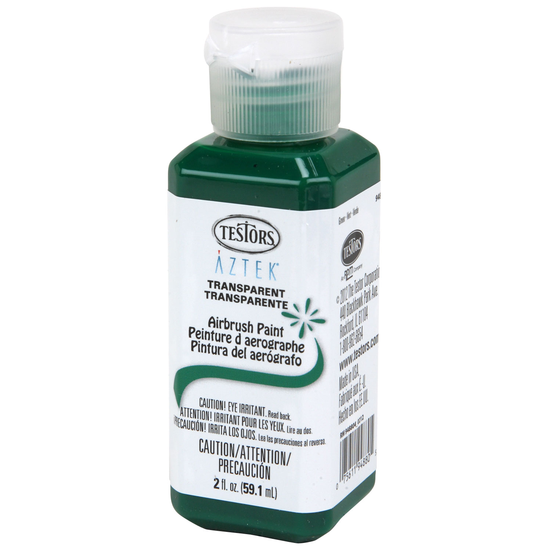 oz testors aztek transparent green premium acrylic