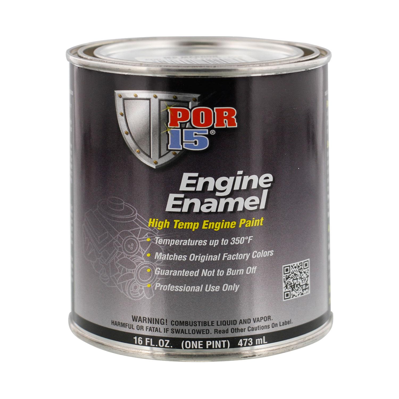 Por  Engine Paint Buick Green