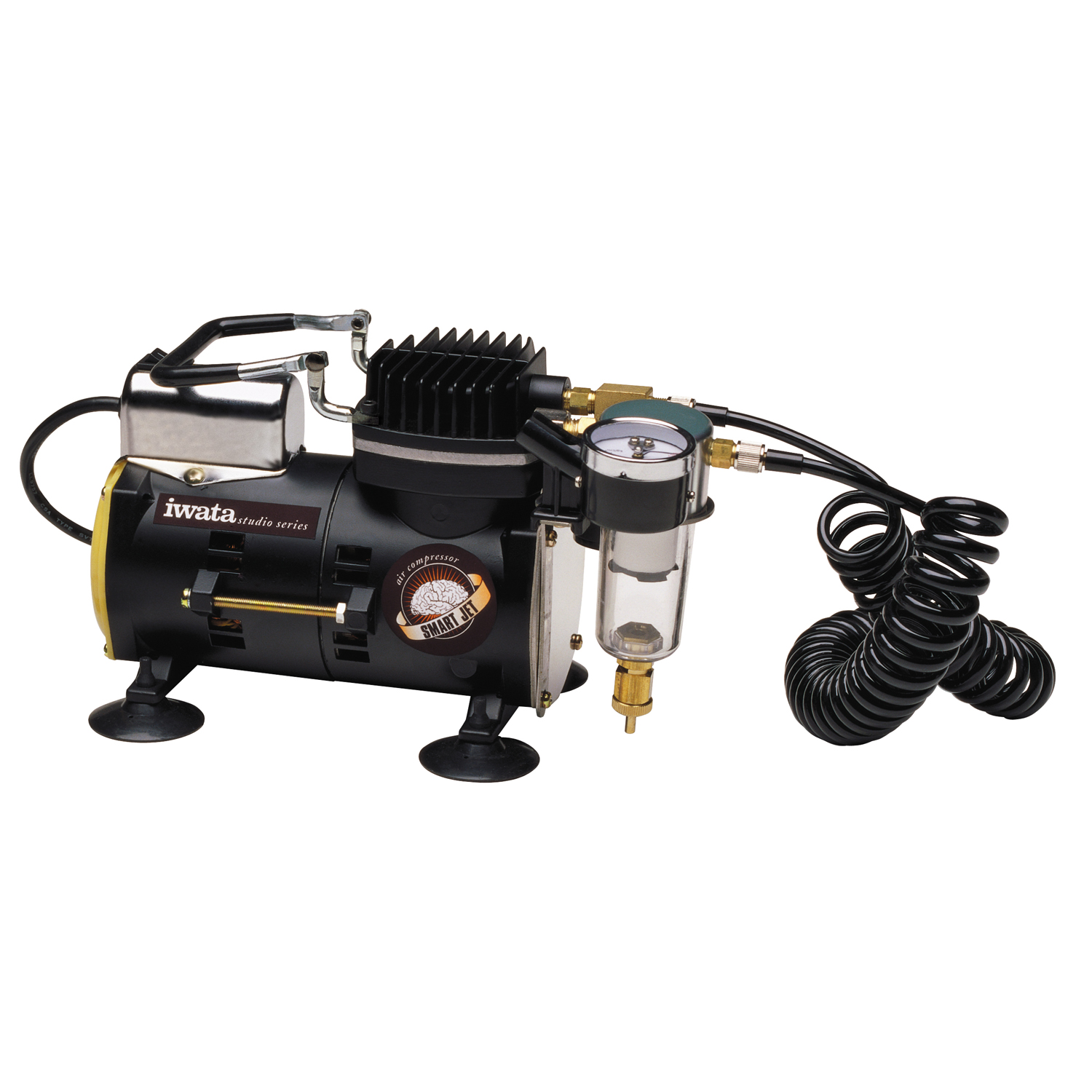 New iwata quiet smart jet air compressor airbrush hose for Air compressor for auto painting