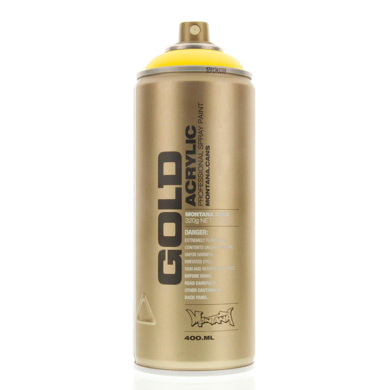 details about montana gold acrylic spray paint citrus g1020 urban. Black Bedroom Furniture Sets. Home Design Ideas