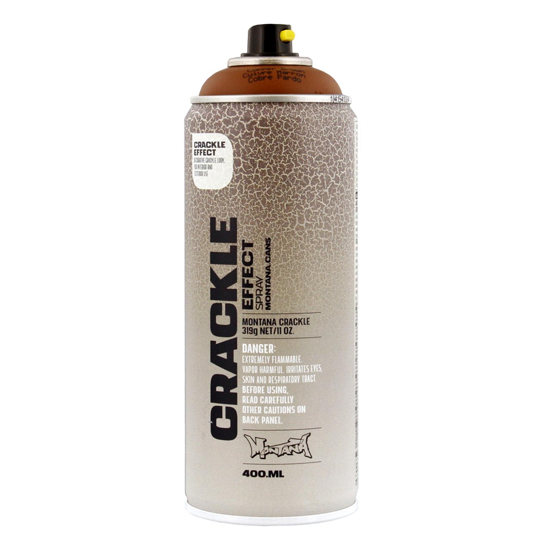 montana crackle effect spray paint 11 oz 400ml copper. Black Bedroom Furniture Sets. Home Design Ideas