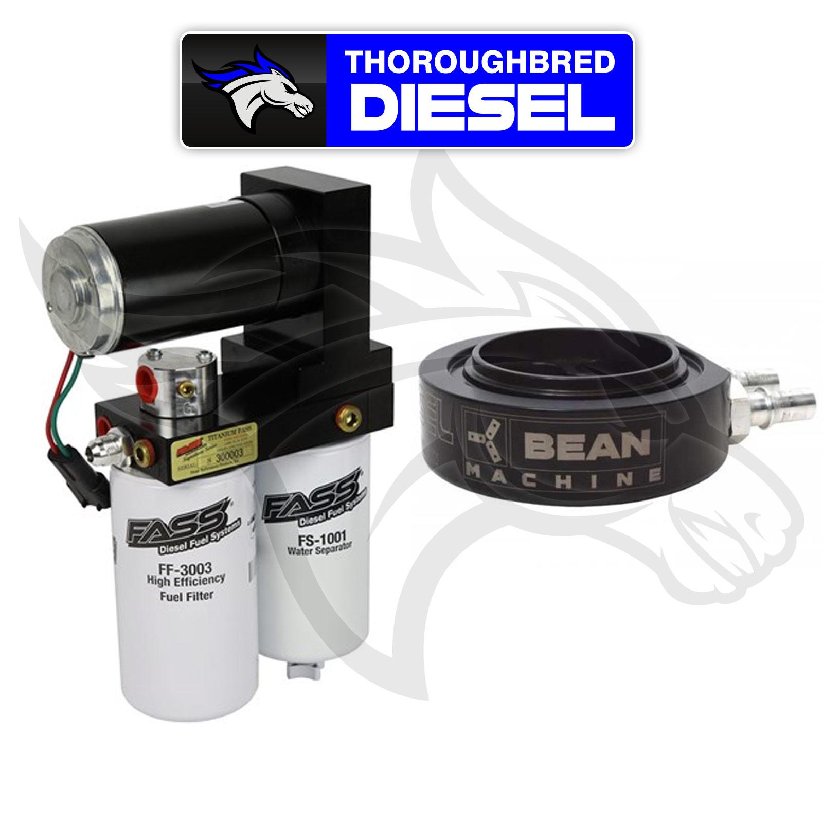 Details about FASS Titanium Signature Series 290 GPH Lift Pump W Beans Sump  For 01-16 Duramax