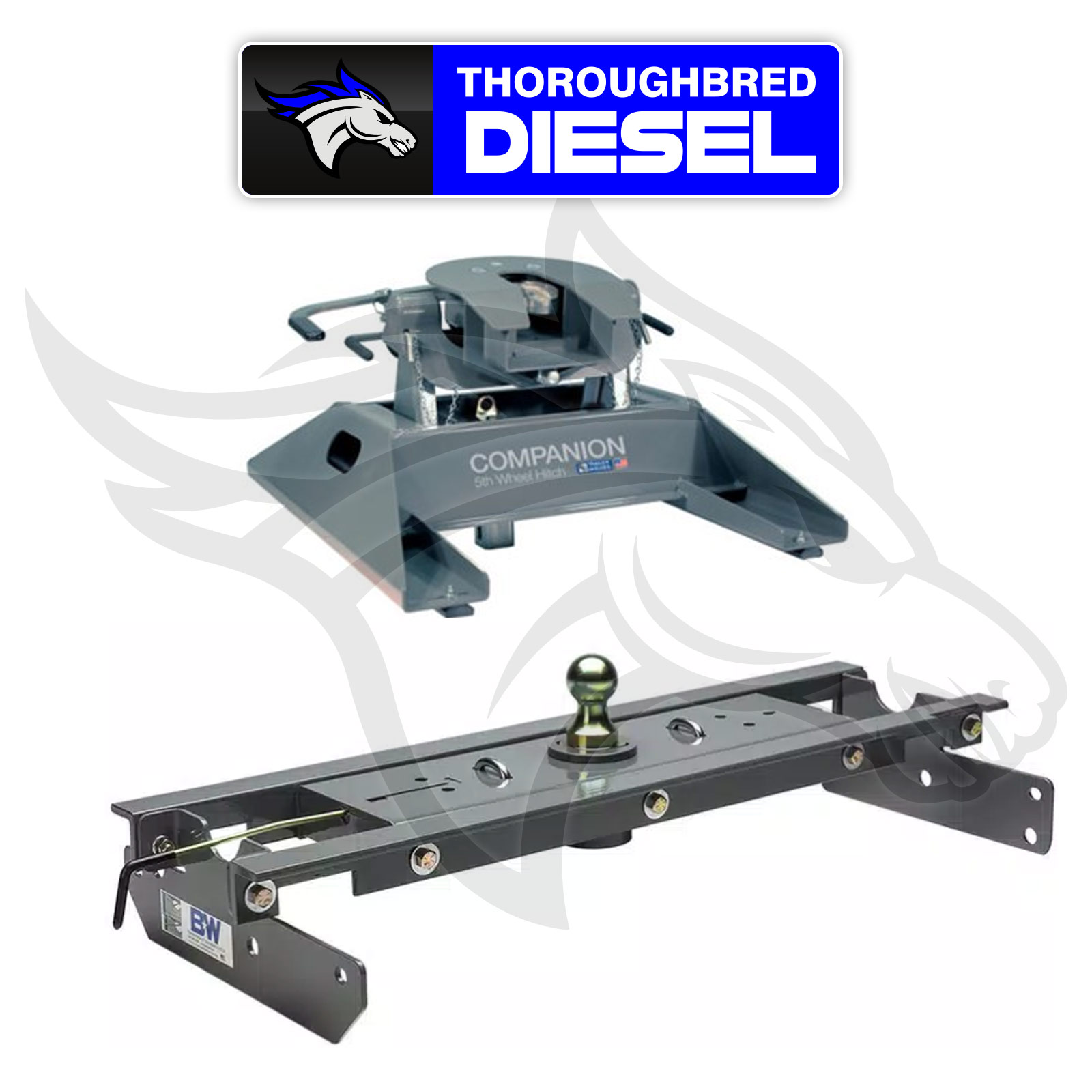 Details About B W Hitches Companion 5th Wheel Hitch Rvk3500 With Gnrk1108 Goosneck Hitch