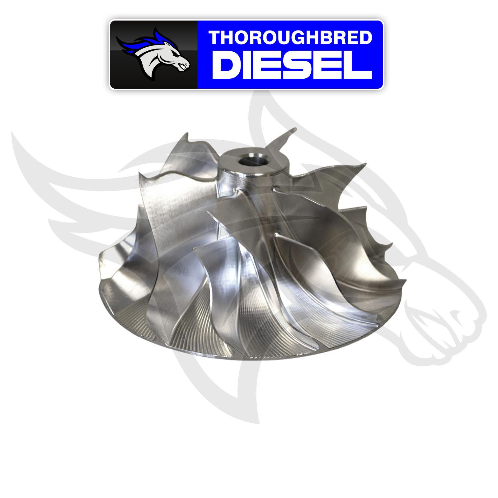 Batmowheel Drop In Compressor Turbo Wheel Lb7 Duramax Ebay