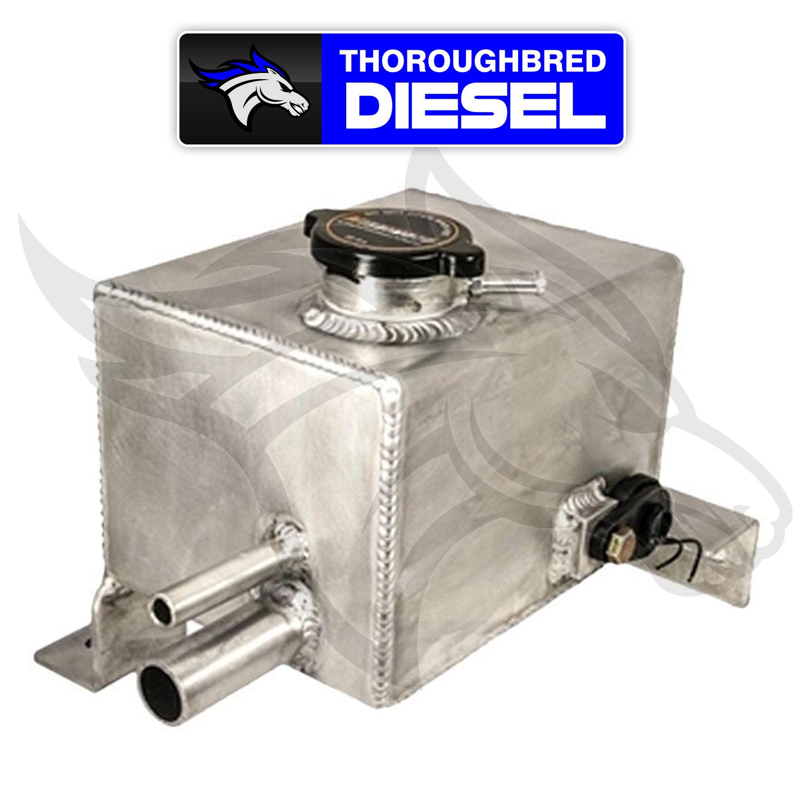 Deviant Race Parts Billet Resonator Delete Plug for 04-10 Duramax; 76130