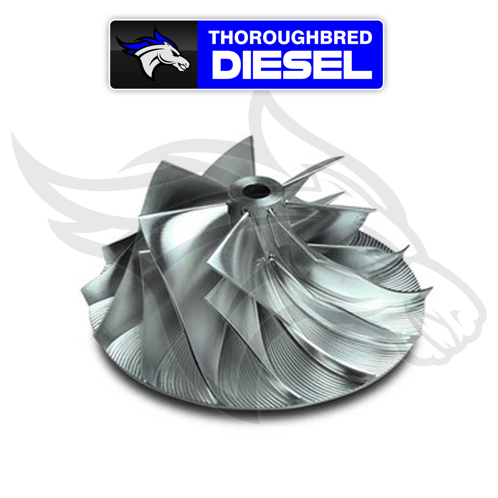 DieselSite Billet Turbo Compressor Wicked Wheel 2 for 98.5-02 Dodge Cummins 5.9L