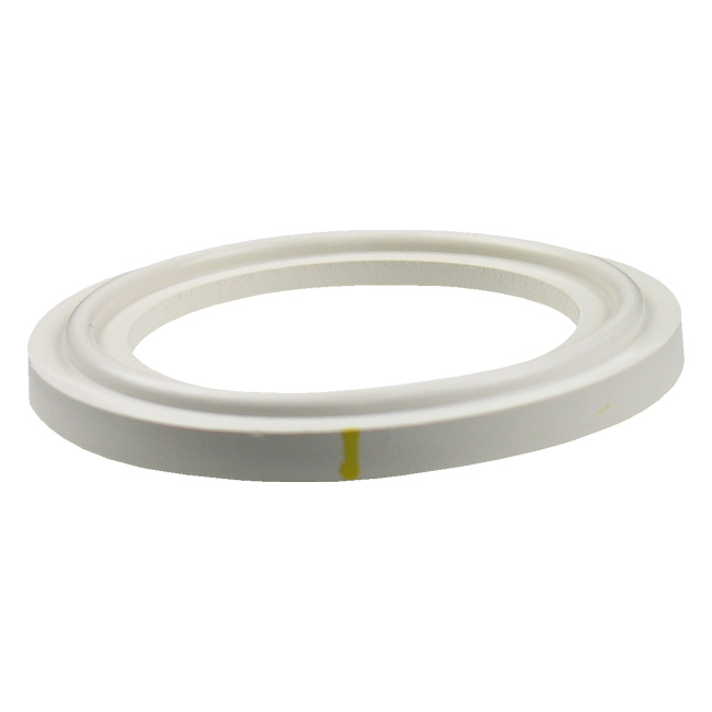 Fkm sanitary tri clamp gasket black quot flanged ebay