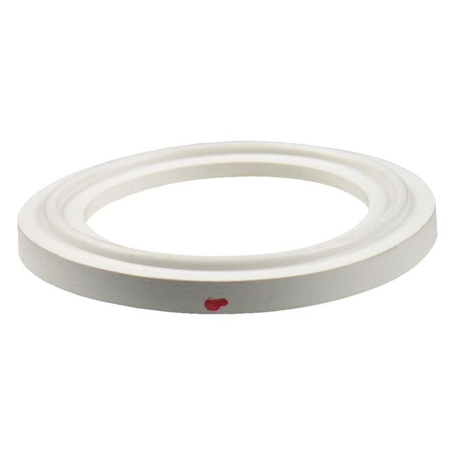 Buna sanitary tri clamp gasket white quot flanged ebay