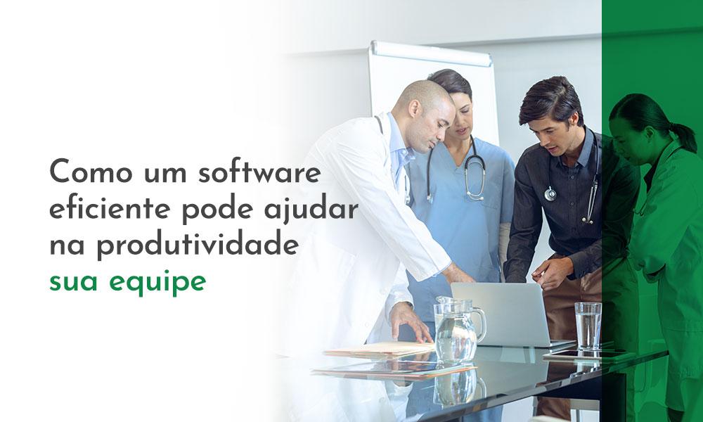 Software de Gestão: Eficiência e aumento da produtividade da equipe