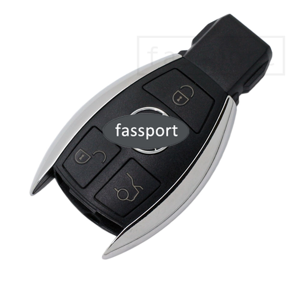Smart key shell fit for replace mercedes benz remote case for Mercedes benz key fob battery size