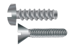 Metric Taptite Style Thread Forming Screws