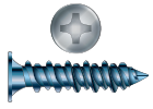 Phillips Drive Concrete Screws