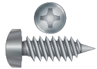 Phillips Drive Self Tapping / Sheet Metal Screws