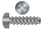 Phillips Drive Thread Forming Screws