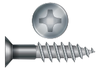 Phillips Drive Wood Screws