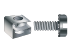 Rack Mounting Clip Nuts With Screws & Washers