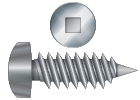 Square Drive Self Tapping Screws