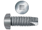 Square Drive Thread Cutting Screws