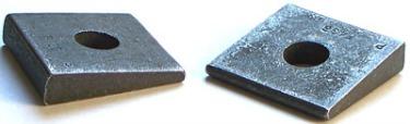 """1"""" Beveled Washers / Hardened Steel / Plain"""