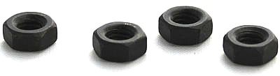 M5-0.8  Finished Hex Nuts / 18-8 Stainless Steel / Black Oxide / DIN934