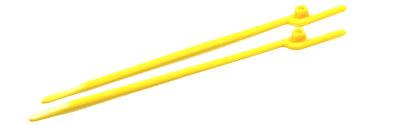 "6"" (30 lbs Tensile ) EZ-Off® Cable Ties / Nylon / Yellow"