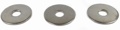 "3/8"" x 2"" Fender Washers / Steel / Zinc"