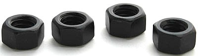 1/2-13 Finished Hex Nuts / Grade 5 / Black Oxide