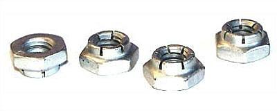 3/8-16 Thin Height Flex Locknuts / Steel / Cadmium