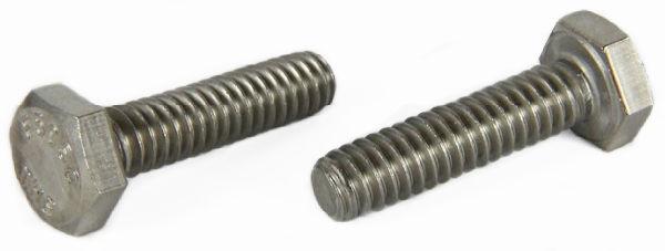"""5/16-18 x 1"""" Hex Cap Screws / 18-8 Stainless Steel"""