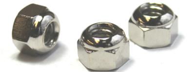 1/4-20 Open End Acorn Nuts / Low Crown / Steel / Nickel