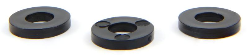 1/4 X 1/2 X .125 Flat Washers / Nylon / Black