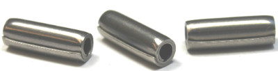 "5/16 x 2 3/4"" Coiled Spring Pins / Medium Duty / 420 Stainless Steel"