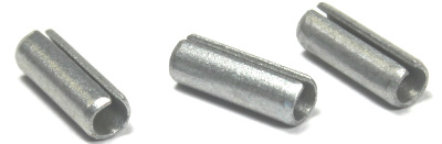 "3/16"" x 3"" Roll (Spring) Pins / Steel / Zinc"