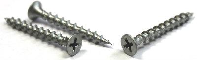 "#10 x 3/4"" Deck Screws / Phillips / Bugle Head / Steel / Dacrotized"