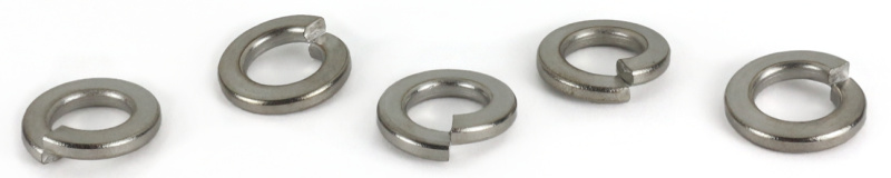 #12 Medium Split Lock Washers / Steel / Zinc