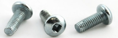 "10-32 x 1/2"" Type F Thread Cutting Screws / Square / Pan Head / Steel / Zinc"