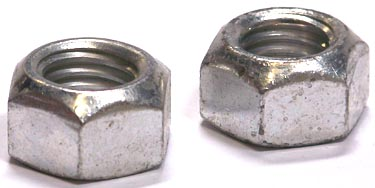 1-8 Non Flanged Stover Locknuts / Grade C / Cadmium
