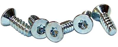 """#6 x 1/2"""" Type B Self-Tapping Screws / Six-Lobe (Torx®) / Flat Head / Steel / Zinc"""