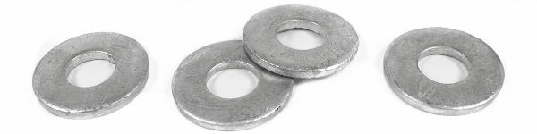 """3/4"""" USS Flat Washers / Steel / Hot Dip Galvanized / Made in USA"""